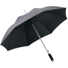 AC alu regular umbrella Windmatic grey-metallic/black