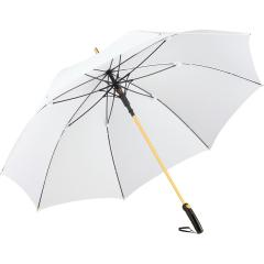 AC alu golf umbrella FARE®-Precious white/gold