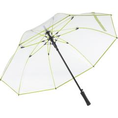 AC golf umbrella FARE®-Pure transparent-lime