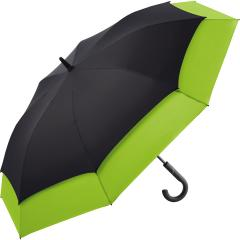 AC golf umbrella FARE®-Stretch 360 black-lime