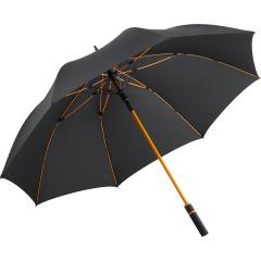 AC golf umbrella FARE®-Style anthracite-orange