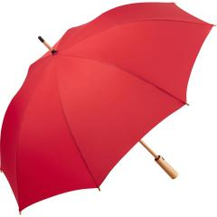 AC midsize bamboo umbrella ÖkoBrella red
