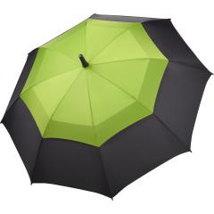 AC midsize fiberglass umbrella Fibermatic® Vent black-lime