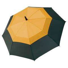 AC midsize fiberglass umbrella Fibermatic® Vent black-orange