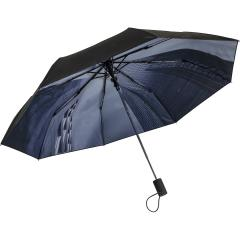 AC mini umbrella FARE®-Nature black/skyscraper design