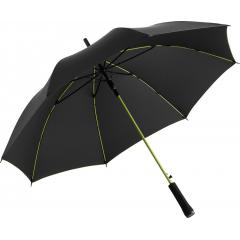 AC regular umbrella Colorline black-lime