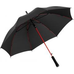 AC regular umbrella Colorline black-red