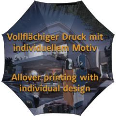 AC-Stockschirm FARE®-Allover design