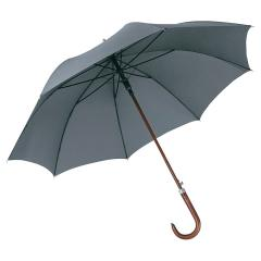 AC woodshaft golf umbrella FARE®-Collection grey