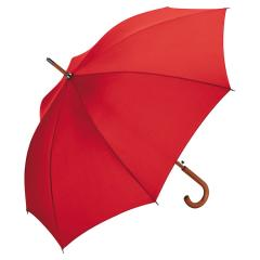 AC woodshaft regular umbrella red