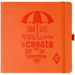 FARE notebook orange