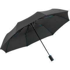 Mini umbrella FARE®-AC-Mini Style anthracite-petrol