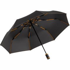 Mini umbrella FARE®-AOC-Mini Style anthracite-orange