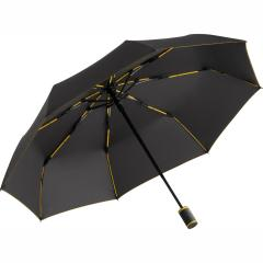Mini umbrella FARE®-AOC-Mini Style anthracite-yellow