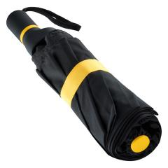 Mini umbrella FARE®-Exzenter black-yellow