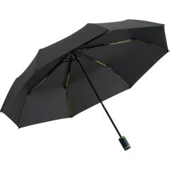 Mini umbrella FARE®-Mini Style anthracite-lime