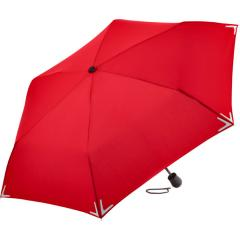 Mini umbrella Safebrella® LED light red