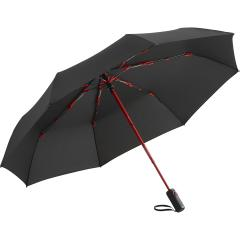 Oversize mini umbrella FARE®-AOC Colorline black-red