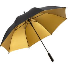 Regular umbrella FARE® Doubleface black/gold